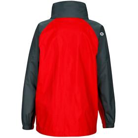"""""""Marmot Kids PreCip Jacket Team Red/Dark Zinc"""""""